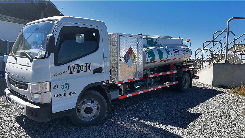 Biogenesis Animal Health Truck